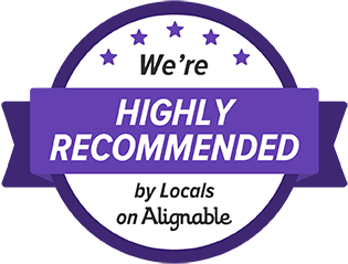 We're Highly Recommended by Locals on Alignable