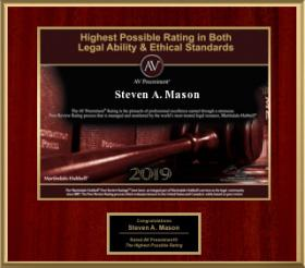 Highest Possible Rating in Both Legal Ability & Ethical Standards